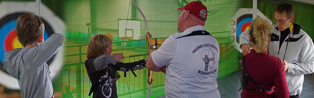 Familiensport Bogenschießen Hagen im Bremischen