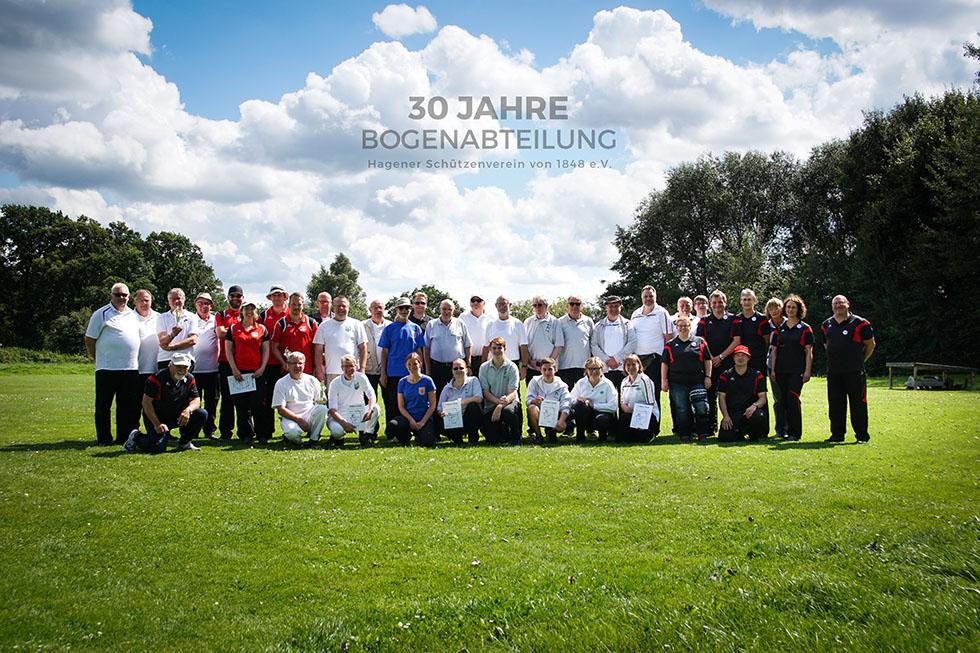 30 Jahre Bogenabteilung